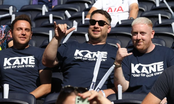 Lavishing praise upon fans Harry Kane has treated with contempt