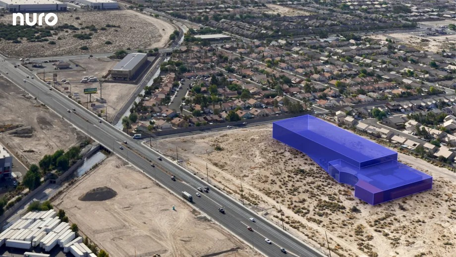 Nuro is building a factory and test track in Nevada for its autonomous delivery robots